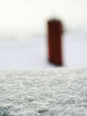 Winter abstract (zohaaa) Tags: christmas winter white snow abstract macro texture bokeh olympus dcr250 raynox c350