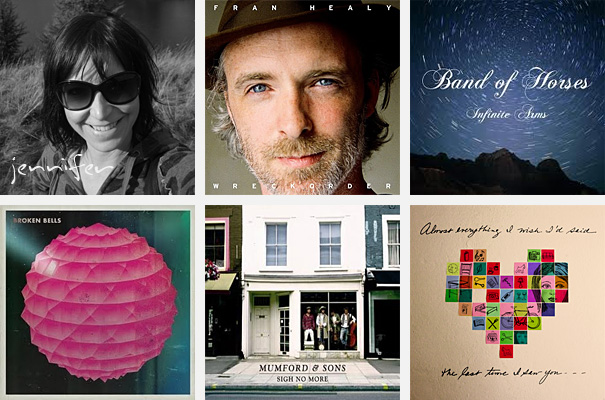 Top 5 Albums of 2010 - Jennifer McKenzie