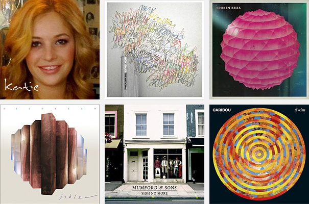 Top 5 Albums of 2010 - Katie Drechsel