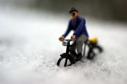 Damn it's Snowing!