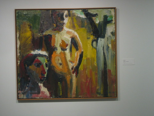 Women in Landscape, 1958, Oil on Canvas, David Park, Oakland Museum of California _ 9494