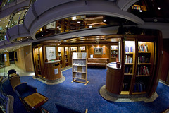 Library (blueheronco) Tags: library fisheyelense jeweloftheseas deck9