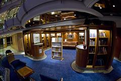 Library (blueheronco) Tags: library fisheyelense jeweloftheseas deck9