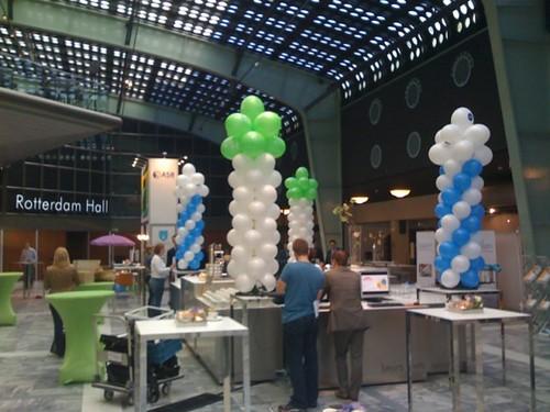 0084-ballonpilaar-breed-rond WTC Rotterdam
