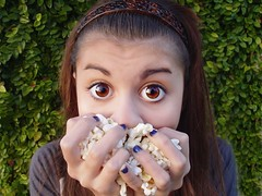 who me, share? (Laurarama) Tags: bigeyes popcorn snacks sonydscf717 snackfoods gettycollection ourdailychallenge collectionp