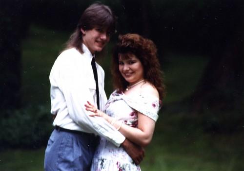 Me & Greg Circa 1990.