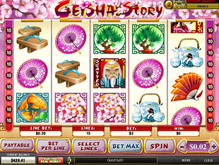 Geisha Story slot game online review