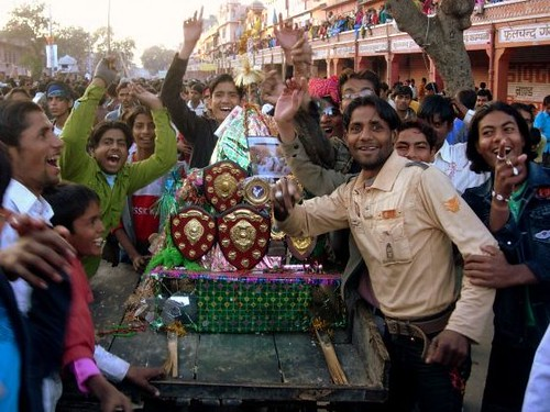 Celebrating Muharram, Jaipur, India