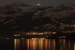 Morgenberghorn - Schwalmere - Schilthorn - First - Krattigen - Faulensee - Thunersee , Kanton Bern , Schweiz (chrchr_75) Tags: hurni christoph schweiz suisse switzerland svizzera suissa swiss kanton bern berne berna bärn kantonbern thun thunersee lac lake see nacht night nuit chrchr chrchr75 chrigu chriguhurni 1012 nat yö oíche notte 夜 s nachts natt noite noche คืน album1001nacht 1001 berner oberland berneroberland alpensee sø järvi lago 湖 landschaft landscape natur nature albumthunersee nightshots nachtaufnahme hurni101221 schilthorn albumschilthorn alpen alps