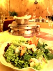 Thai-Salat mit Riesencrevetten