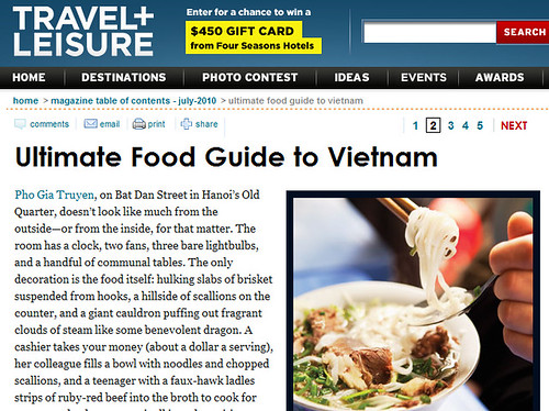 Vietnam The Ultimate Food Tour - Travel + Leisure