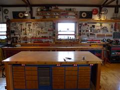 DSCN8924 (mtneer_man) Tags: wood man shop saw mechanical garage storage workshop cave press ocd drill woodshop lathe pegboard drillpress tablesaw mancave pegborad