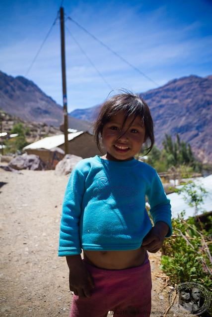 Local Girl In The Village of Malata