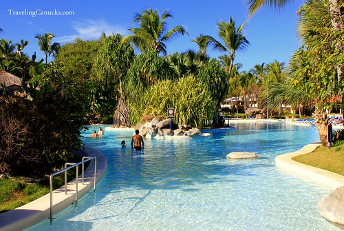 Pool at Bavaro Princess Resort in Punta Cana