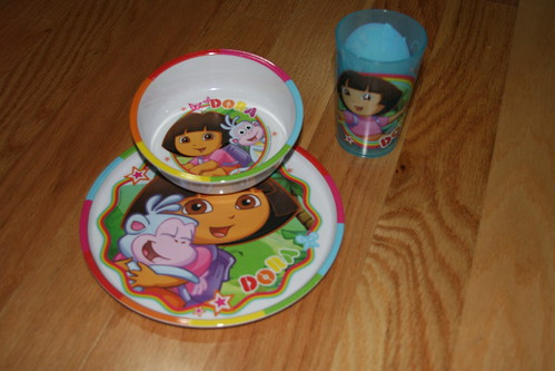 Dora Eating Set