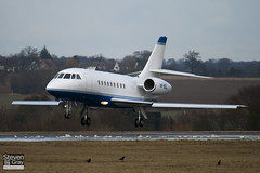 VP-BDL - 111 - Private - Dassault Falcon 2000 - Luton - 100224 - Steven Gray - IMG_7329