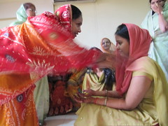 Showering the Bride with Gifts