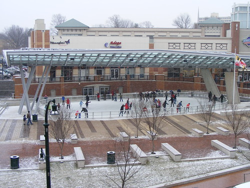 Ice Rink, Veterans Plaza
