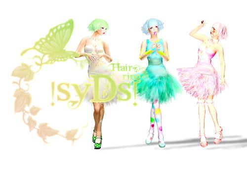 !SyDS! Hair * Bird - Colors
