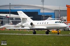 UR-MOA - 237 - Private - Dassault Falcon (Mystere) 20D-5 - Luton - 100510 - Steven Gray - IMG_0805