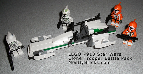 LEGO 7913 Star Wars Clone Trooper Battle Pack