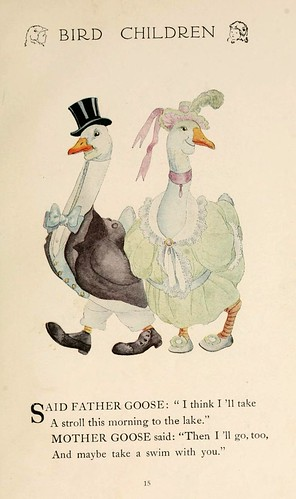 017--Bird children…1912 -Elizabeth Gordon- Illustrated by M. T. Ross