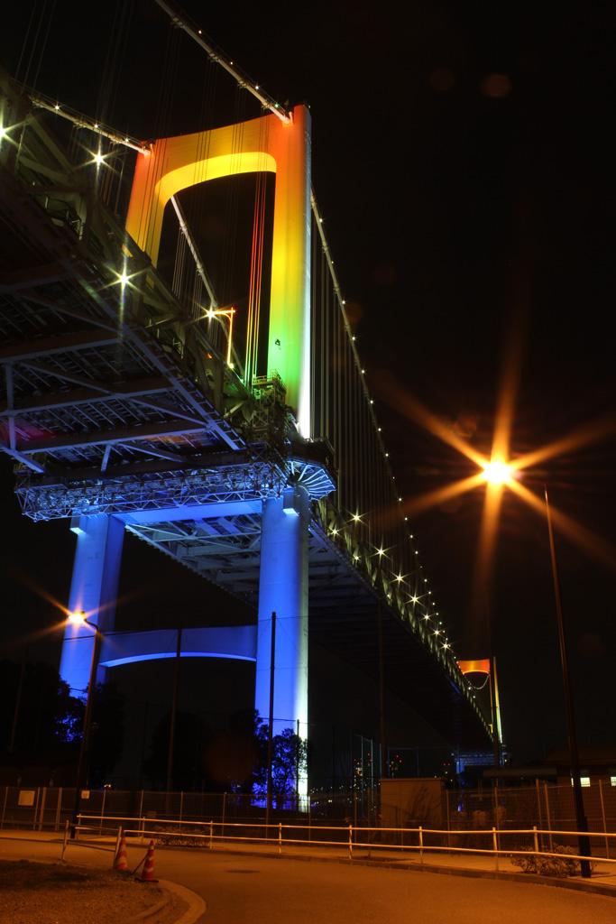 Rainbow bridge illumination 14(TOKYO)
