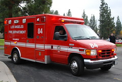 LOS ANGELES FIRE DEPARTMENT (LAFD) RESCUE AMBULANCE 84 (Navymailman) Tags: california rescue ford woodland toys fire for la los angeles 4 sunday lafd ambulance hills motor ra department supercar 2010 fd motor4toyscom motor4toys