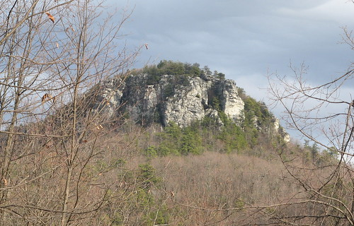 Hanging Rock, late afternoon