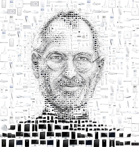 Steve Jobs 2011 (white) by tsevis