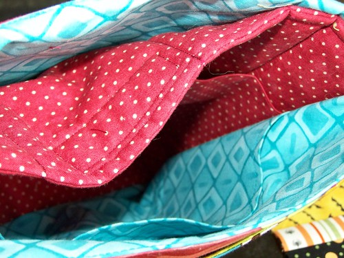 smarty girl bag inside