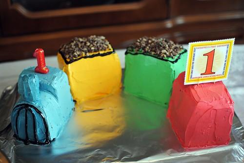 Choo-Choo Cake