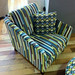 Stripey chair - Julian Dyer