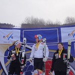 Elli Terwiel (Sun Peaks Alpine Club/BCST) third overall at Sunday River Nor-Am Giant Slalom