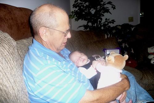 Papa and grandbaby