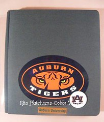 Auburn Mini Album 8.5x11