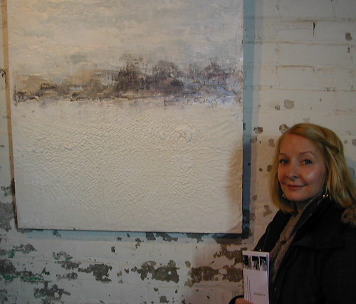 Toronto Arts Girl checks out the art exhibition at the distillery district in Toronto