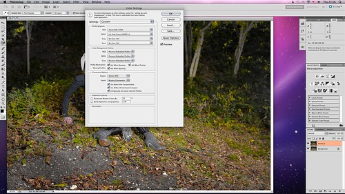 place to remove desaturation in photoshop, when saving for web