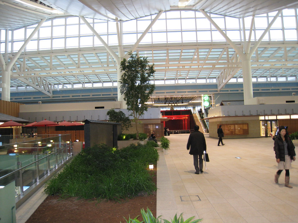 Edo Koji Zone (shops and restaurants) of Haneda (HND) International Terminal