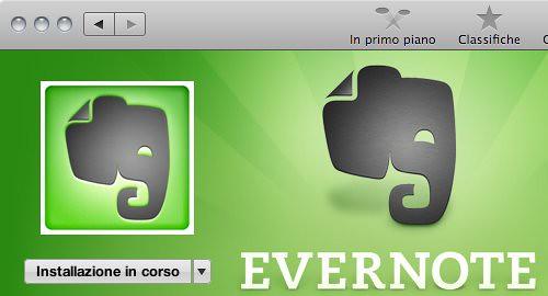 Mac App Store - installazione Evernote 04 (dettaglio)