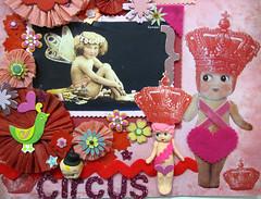 Circus Cupie Scrapbook Layout! 3