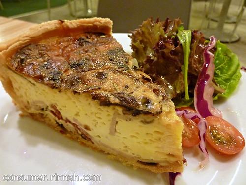 Salmon quiche @ Marmalade