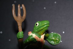 Bullywugs of the Bog 5 (the_gonz) Tags: toys action dragons retro fantasy 80s figure bog dungeons advanced ljn bullywugs