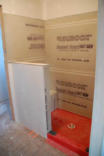 how to build cement restrooms with showers