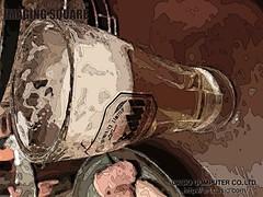 ビールグラス_オート(シルクスクリーン)