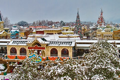 DLP Dec 2010 - A Snow covered Parc Disneyland