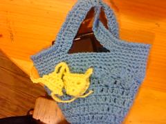 calipso (Ptits Dlcs ) Tags: crochet hechoamano calipso portacelular fatbag carterita