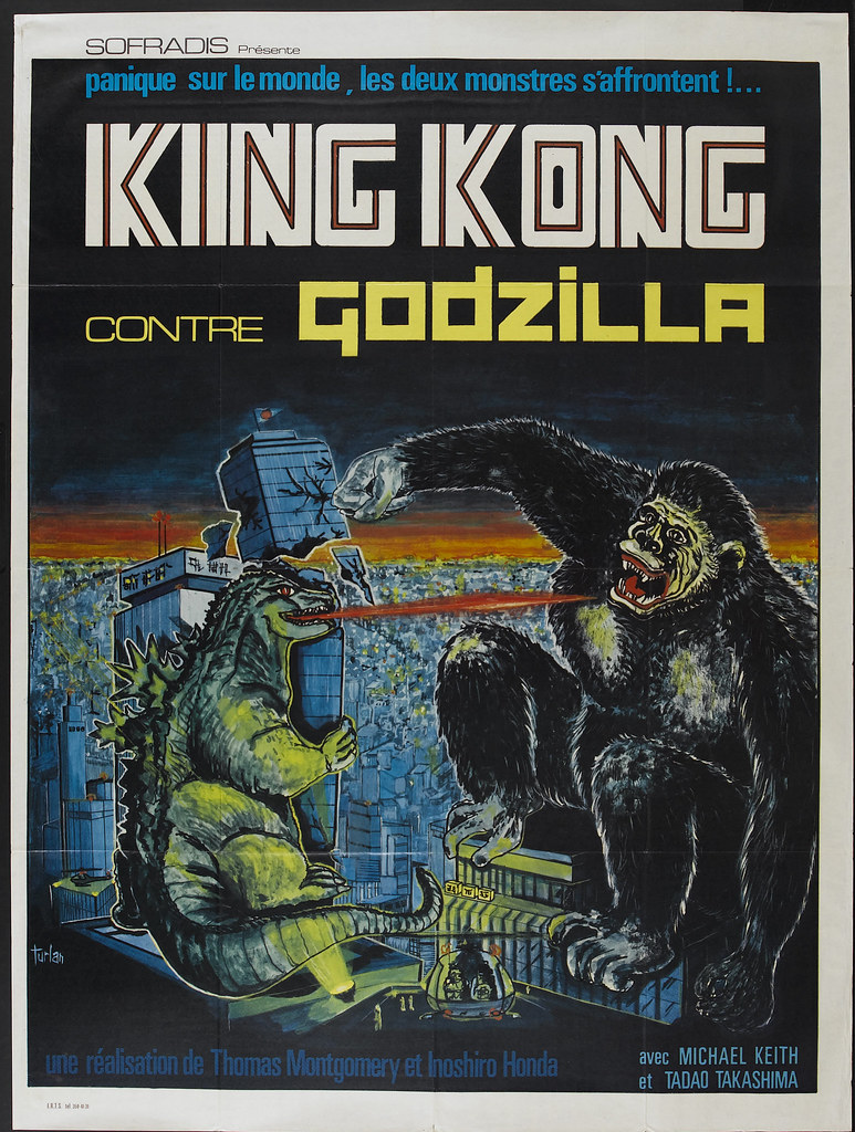 King Kong vs. Godzilla (Universal, 1963). French