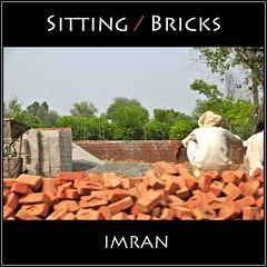 Sitting. Bricks! - IMRAN  500+ Views! (ImranAnwar) Tags: travel pakistan red outdoors nikon framed 2009 imran d300 imrananwar