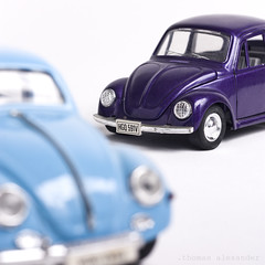 .on wheels .explored (.thomas alexander) Tags: blue purple vwbeetle onwheels ourdailychallenge